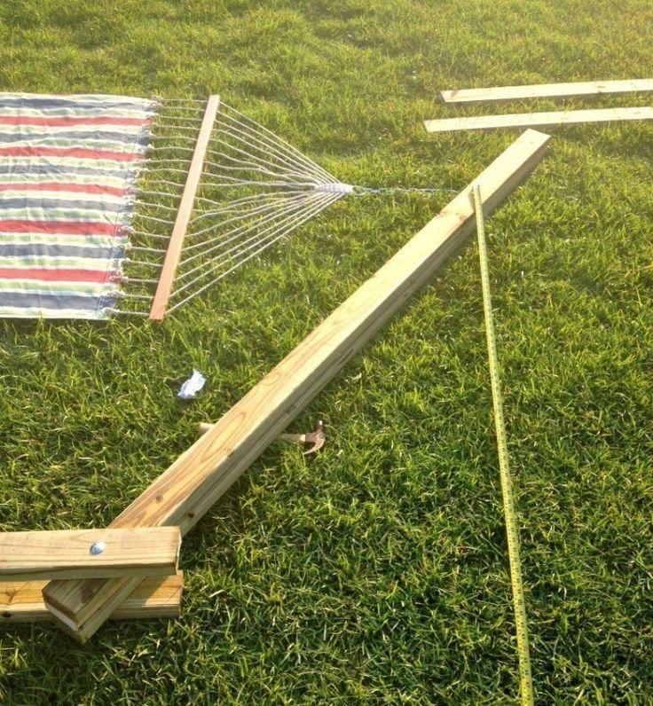 17 mejores ideas sobre soporte de hamaca en pinterest - Hamacas para jardin ...