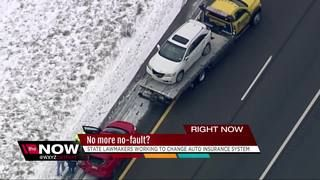 Lawmakers debate repealing Michigan's no-fault auto insurance system