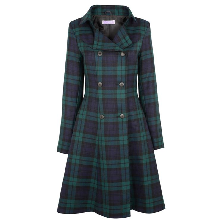 "The ""Kate Coat"" in Wallace hunting green. I'm in love with the cut of this coat."