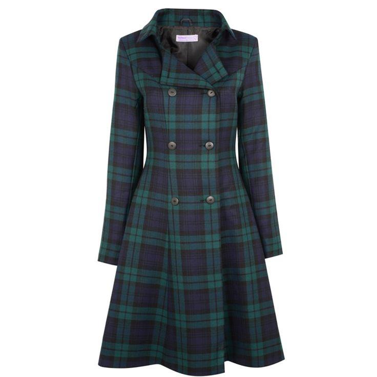 The Kate Tartan Coat made in Scotland