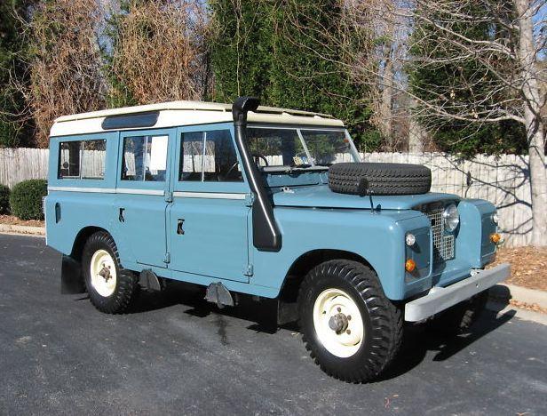 1967 Land Rover Series 2a 109 Quot Land Rover Land Rover