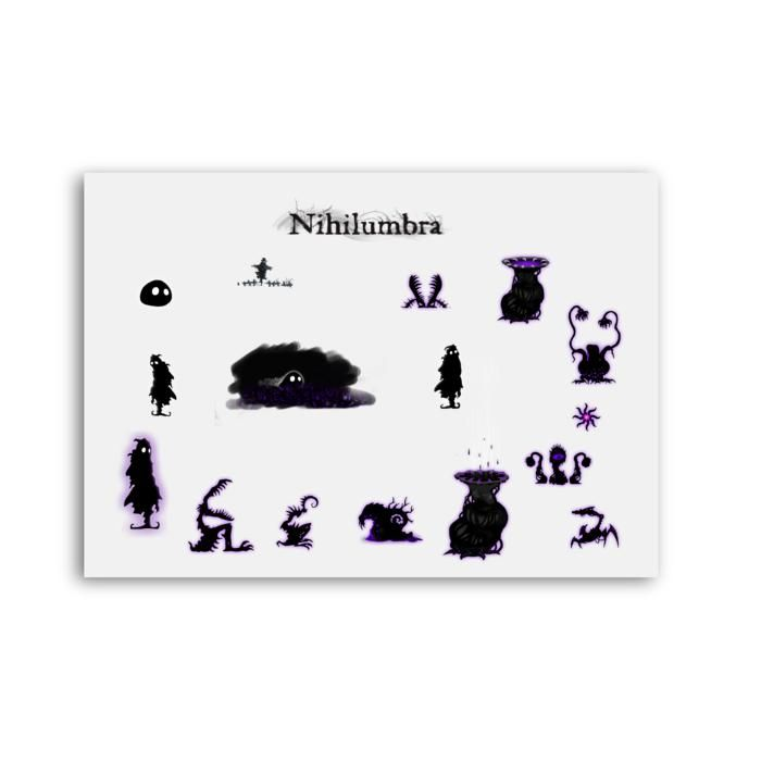 Nihilumbra characters poster