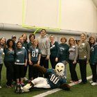 Learn from the pros, play with the pros, even eat like the pros at the Philadelphia Eagles Academy for Women, men or even kids, at the NovaCare Complex in Philadelphia.