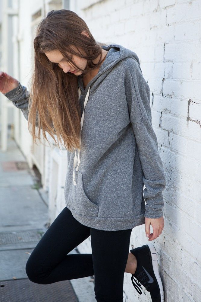 incredible outfit with hoodie hair