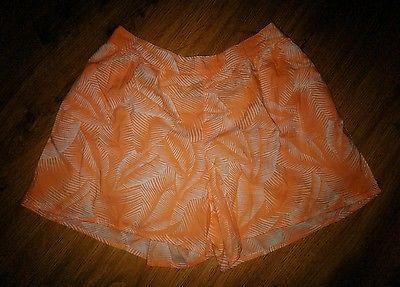 GAP Kids Girl's Orange Palm Soft Shorts Size XXL 14-16 New NWOT