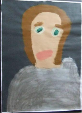 Patrick Francis - Kylie 2013, acrylic on paper, 60x80cm