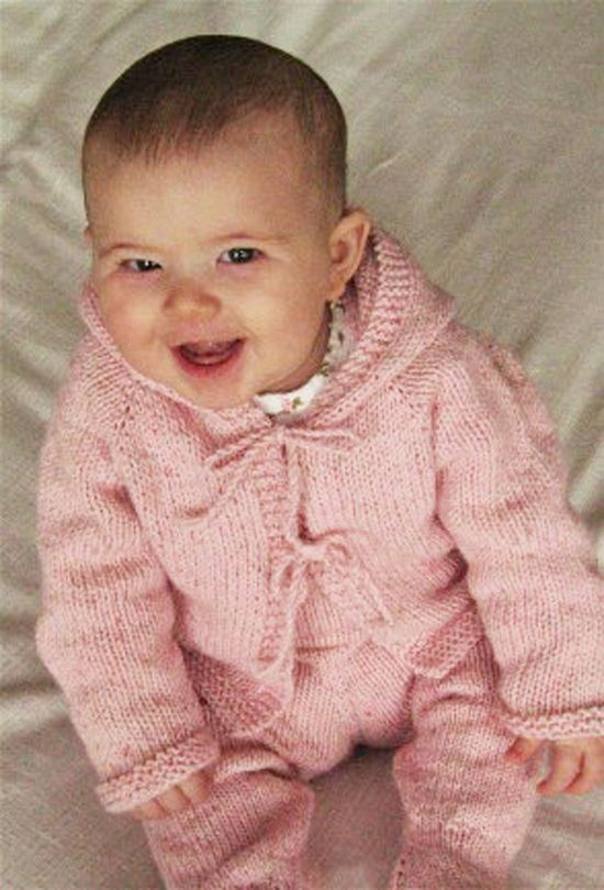 Simple Baby Cardigan Knitting Pattern : 577 best images about Baby Girl on Pinterest Fendi, Infants and Baby girl d...