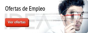 Nuestro Departamento de RRHH actualiza diariamente las Ofertas de Trabajo en la web http://www.ideaingenieria.es/contacto/trabaja-con-nosotros/. ¡Pronto os encontraremos!