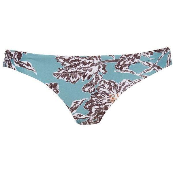 Shore'bikini Bottoms by Beach Riot (105 BRL) ❤ liked on Polyvore featuring swimwear, bikinis, bikini bottoms, blue, swim bikini bottoms, blue bikini, blue bikini bottoms, blue swimwear and beach wear