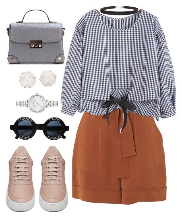"""""""ho ho holiday ..."""" by pepito-sutrisno on Polyvore featuring Whistles, Filling Pieces, Chanel, Kate Spade and Humble Chic"""