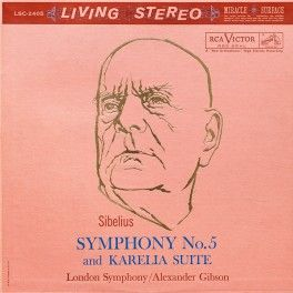 Sibelius+Symphony+No.5+Karelia+Suite+Gibson+LP+Vinil+200gr+Living+Stereo+Analogue+Productions+QRP+USA+-+Vinyl+Gourmet