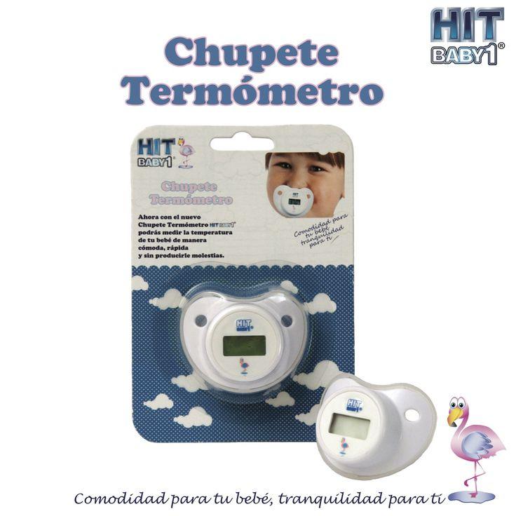 Termómetro en forma de Chupete / Pacifier Thermometer Durante los primeros años de vida de un niño es natural que los padres se preocupen por cualquier cambio en su estado de salud. #niños #fiebre #termómetro #salud #comidad #bebés #temperatura http://bloghitbabyone.com/2015/03/05/chupete-termometro/