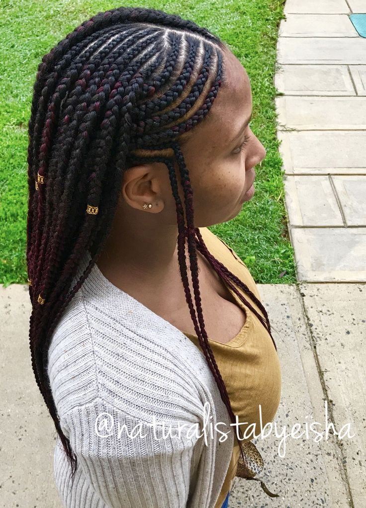 tribal hair style tribal braids naturalistabyeisha 8846