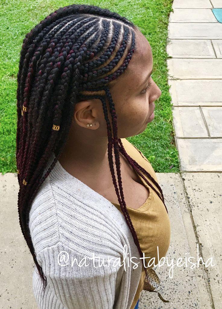 tribal braids naturalistabyeisha