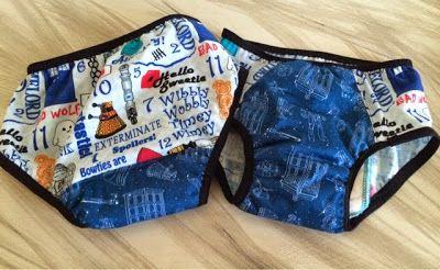 How to sew training underwear.