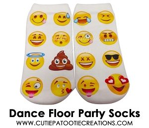 Bar Mitzvah Dance Floor Party Socks, Bat Mitzvah Dance Floor Party Socks, B'Nai…