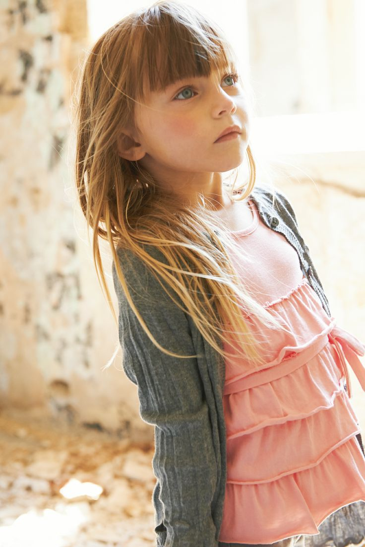 3POMMES SS14  http://www.offemily.com/ Cool girl streetstyle kids