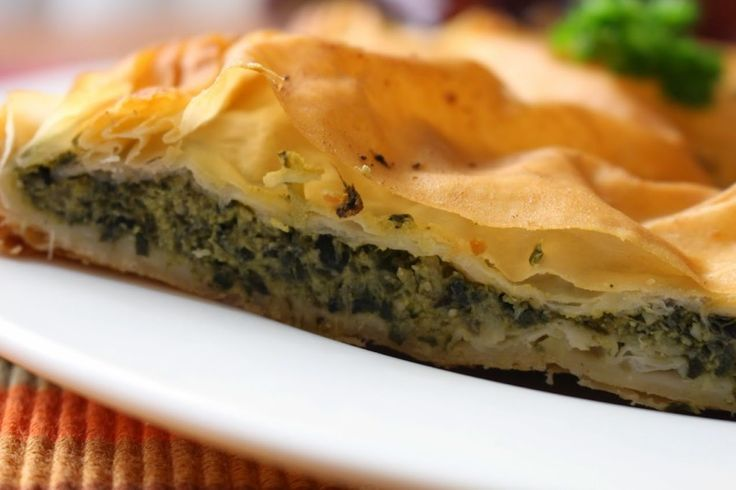 Thermomix assisted spanakopita