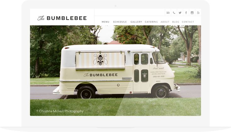 Beautiful food truck website templates you can launch quickly on your own, that are easy and affordable.