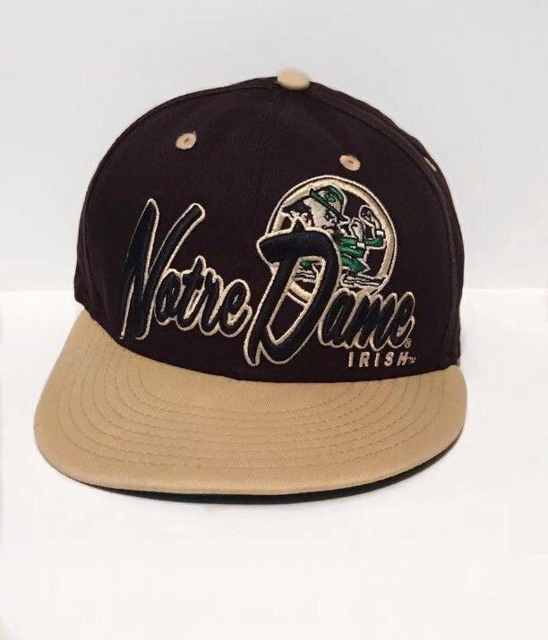 e6b80c506e Fighting Irish Notre Dame New Era 9Fifty Embroidered Snapback Cap ...