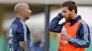 Head coach of the Argentina national team Jorge Sampaoli has played down suggestions that they would have beaten Nigeria if Lionel Messi was in the team.  Messi returned to Barcelona after their 1-0 win over Russia last Saturday and missed their 4-2 loss to the Super Eagles in a friendly on Tuesday night.  Speaking after the game Sampaoli refused suggestions that if Messi had played they would have won insisting that the players he had on the pitch should have done better.  We (Argentina)…