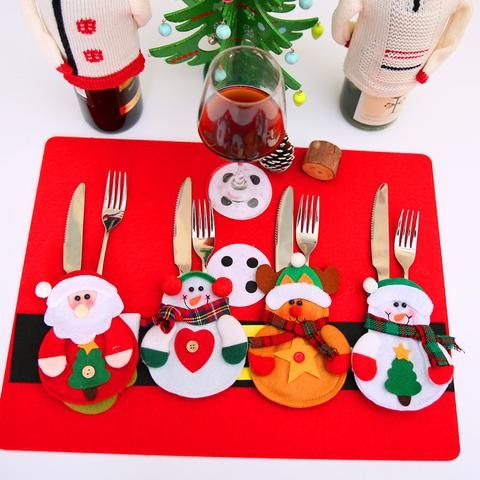 12 PIECES OF CUTLERY CHRISTMAS DECORATION ''BUY NOW''