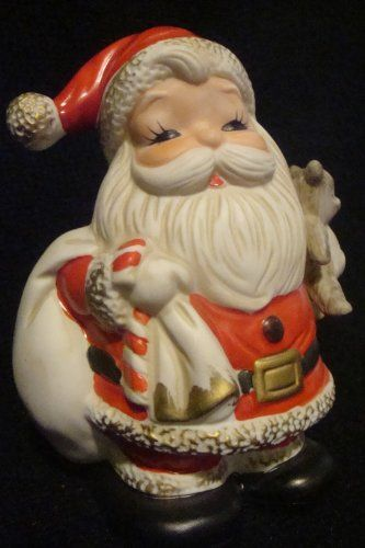Vintage HOMCO Santa Claus Decoration and Coin Bank 5610 H...   ..........Please save this pin... ....................Because for vintage collectibles -  Click on the following link!..   http://www.ebay.com/usr/prestige_online