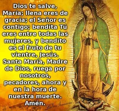 Dios te salve Maria