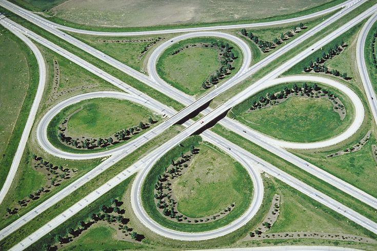 Cloverleaf Interchange & 35 best PPP images on Pinterest | Civil engineering Landscape ...