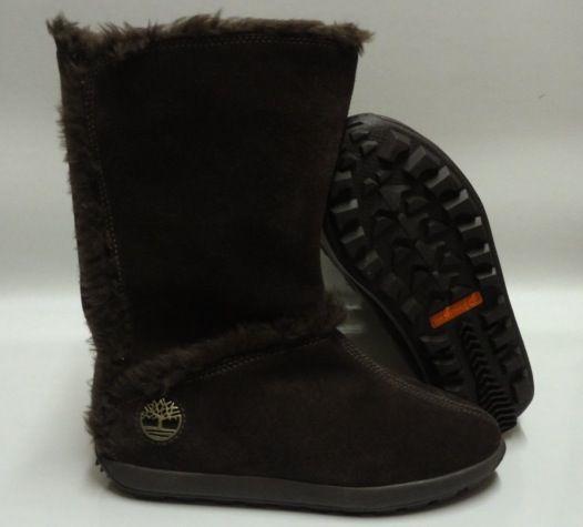 timberland mukluk women's boots   Timberland Mukluk Pull on Brown Boots Womens Size 8 5   eBay