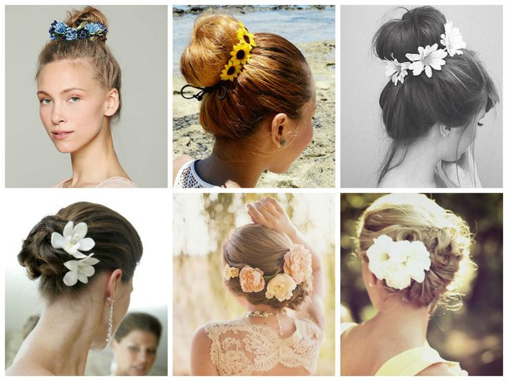 Hairstyles For Prom With Flowers : Best images about accessories on prom hair