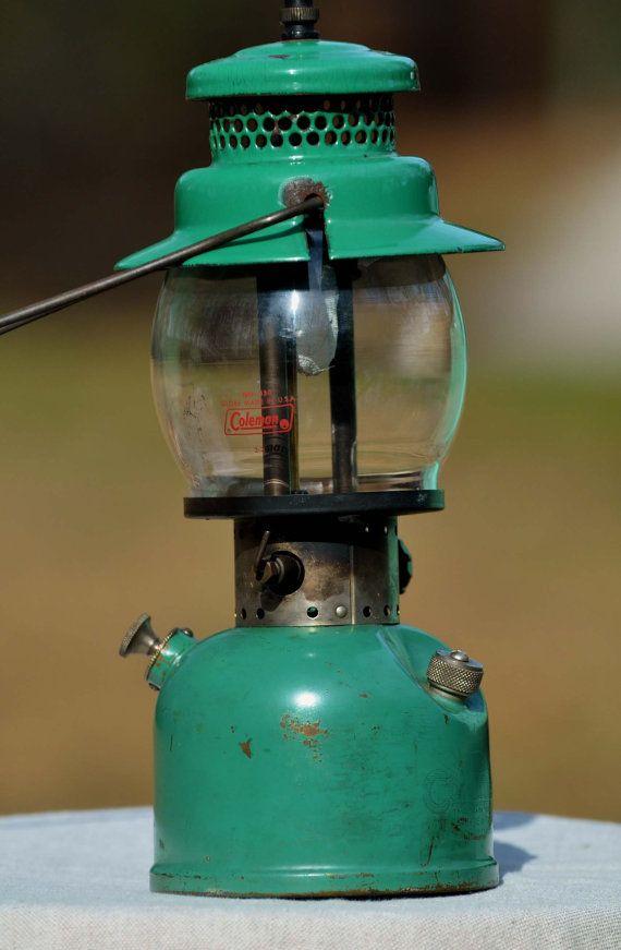 "Vintage camping lantern. Coleman #242B ""The sunshine of the night"""