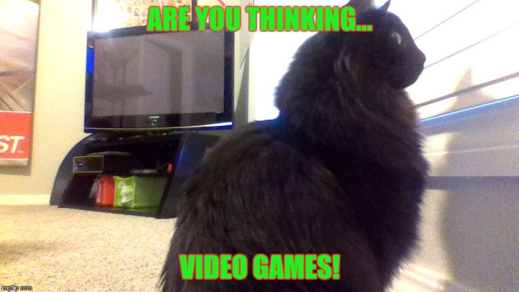 ARE YOU THINKING... VIDEO GAMES! | made w/ Imgflip meme maker