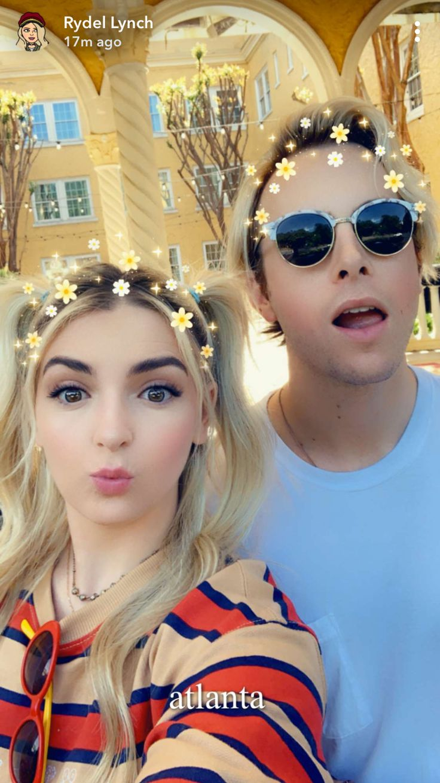 Rydel S Snapchat Celebrities Mirrored Sunglasses Women