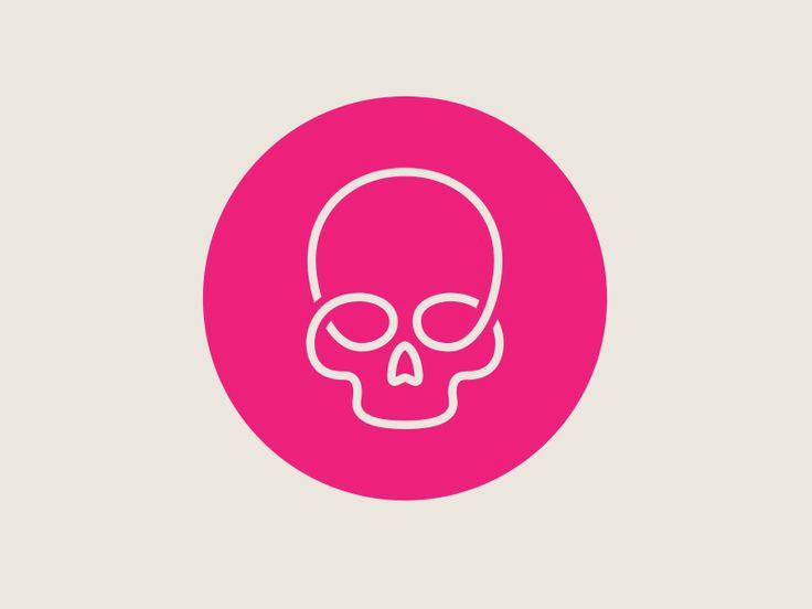 Dribbble - Skullink by Marc Clancy