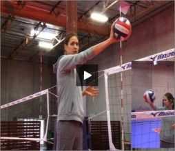 In this instructional volleyball video Logan teaches players and coaches how to hit the sharp cross court shot from the outside hitter position. Please visit http://volleyball1on1.com/logan-tom-volleyball-spiking-sharp-cross-court/ for more information.