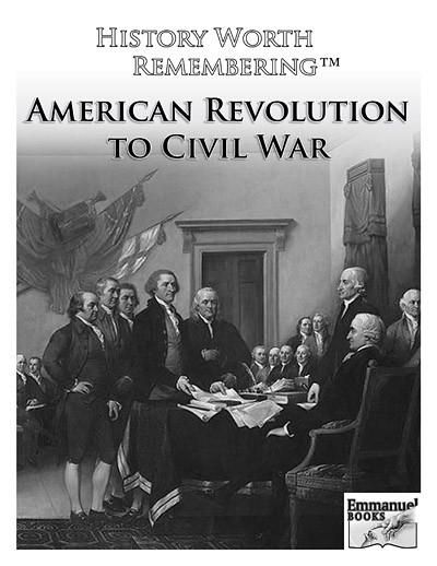 History Worth Remembering Timeline Figures VOL. 2: American Revolution to Civil War (instant PDF download, 9 pages).  All grades. Print on 8.5 x 11 sheets or sticky-back paper for home/classroom use. 63 People and Events including: George Washington, Patrick Henry, Benjamin Franklin and more!