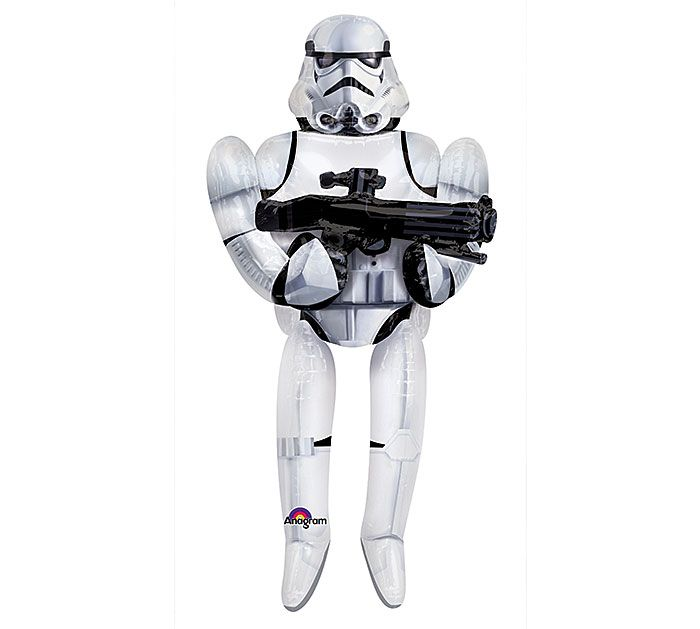 Planning some Star Wars themed fun this summer?  Be sure to include our 70 inch Storm Trooper balloons!  #starwars