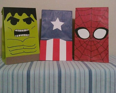 bolsas de cumpleaños del increíble hulk