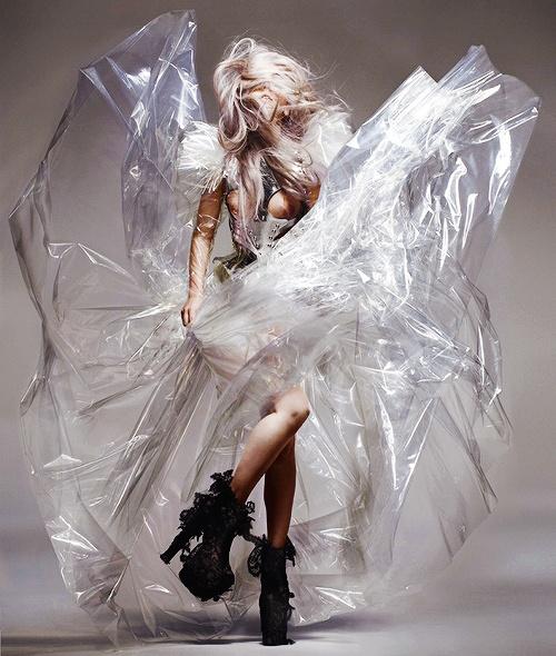 Crazy Bag Lady Fashion Editorial