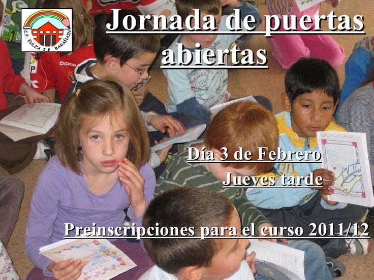 jornada-de-puertas-abiertas-colegio-eulza-2011 by colegioeulza via Slideshare
