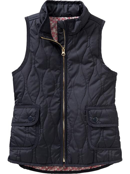Girls Quilted Vest