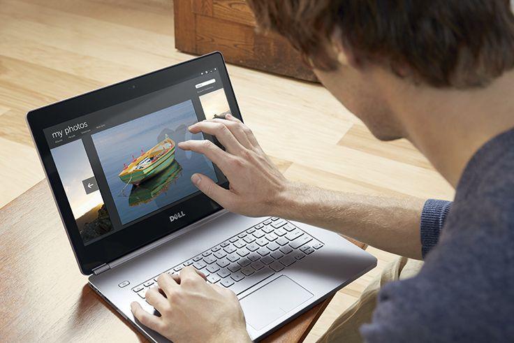 Inspiron 14 Série 7000: Mobilité sans compromis. Idéal pour un usage mobile : design compact, châssis ultra mince et matériaux premium, batterie longue durée, clavier rétroéclairé et écran tactile FHD avec vision 160° phénoménal (en option). Disponible en plusieurs versions d'écran 14,0'' (35,56cm) tactiles ou non, HD (720p) ou Full HD (900p). Réf. Dell Inspiron 14 Série 7000 (7437). http://www.exertisbanquemagnetique.fr/info-marque/Dell #Dell #Ordinateur #Tactile