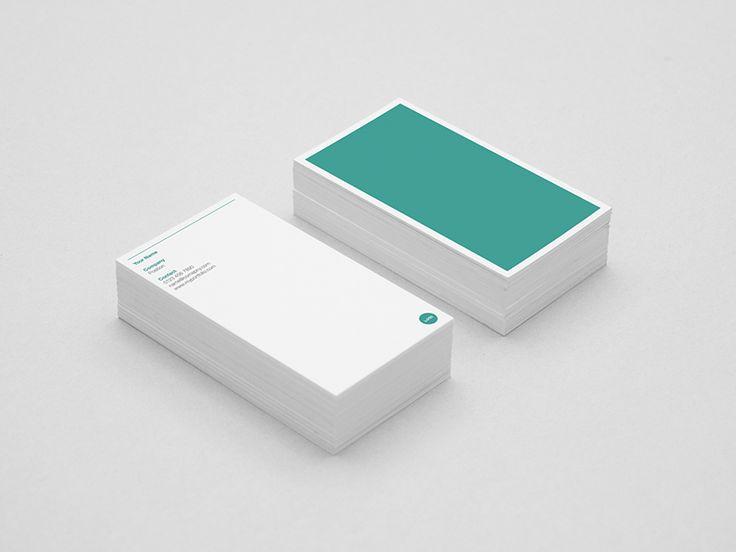 Best 25+ Minimal business card ideas on Pinterest