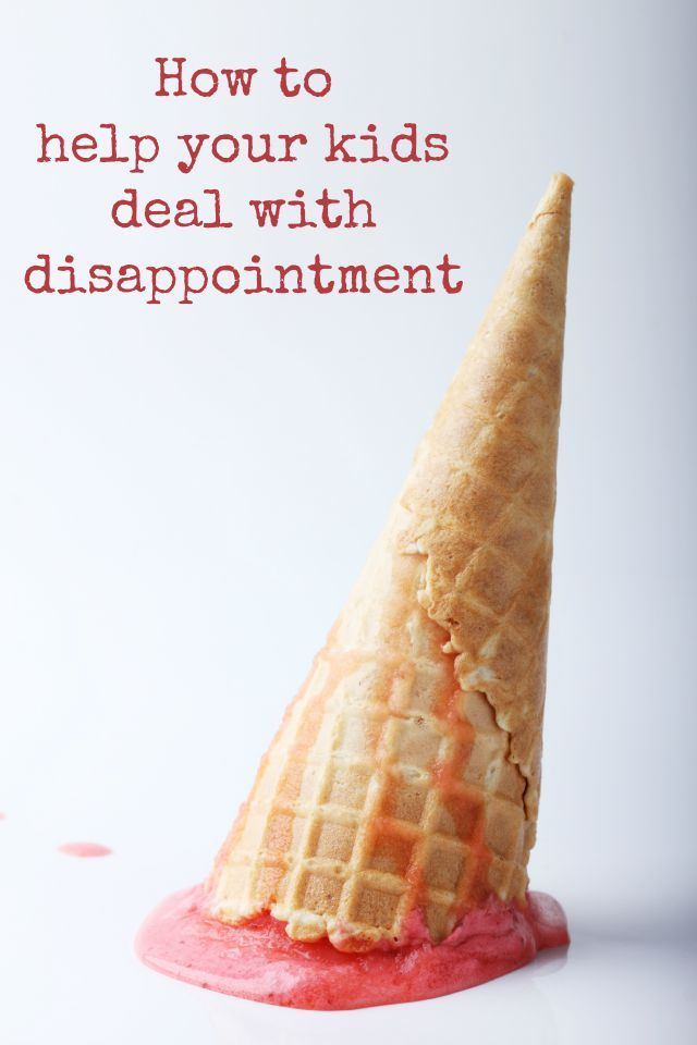 It isn't easy - even for an adult - dealing with disappointment, whether it s lower grade, a different class, or just something more simple. Here are some ideas to help out kids deal with those slightly tougher times....
