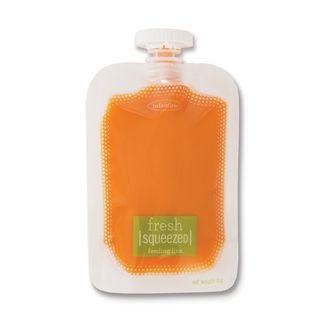 Мягкая упаковка Infantino Squeeze Pouches 50 шт. для пюре и смузи