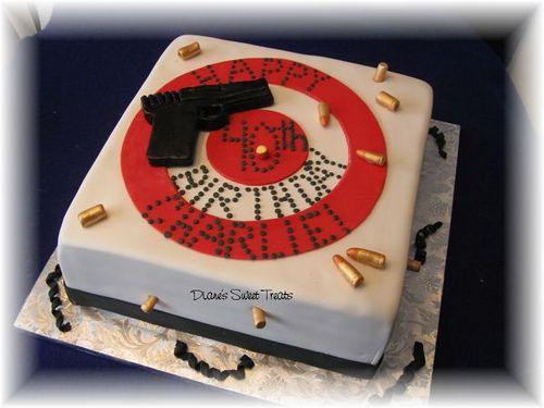 bulls eye cake by Diane's Sweet Treats - (Diane Burke), via Flickr