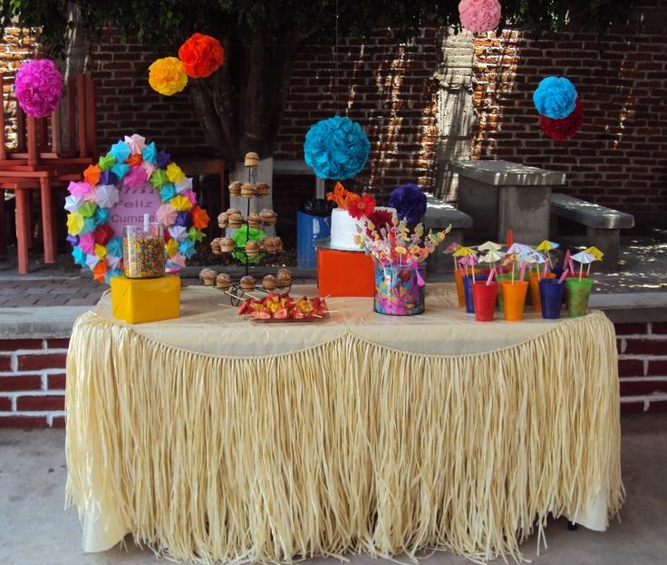 hawaiian party by Dekorela