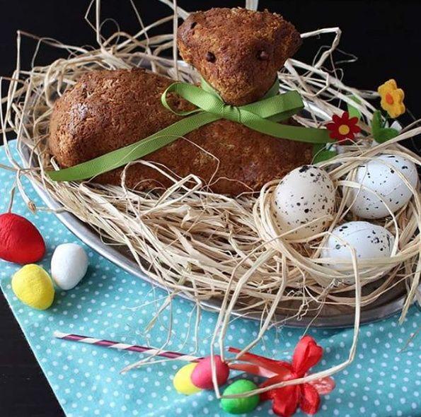 Velikonoční beránek (s tvarohem)