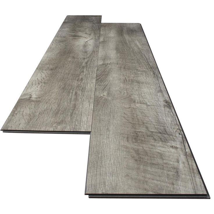 Home Decorators Collection Stony Oak Grey 6 In X 36 In Luxury Vinyl Plank Flooring 20 34 Sq Ft Case 60198 The Home Depot Luxury Vinyl Plank Flooring Luxury Vinyl Plank Vinyl Plank